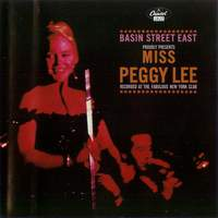 download Peggy Lee : Basin Street East Proudly Presents